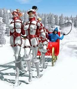 dashing-through-the-snow spanking blog