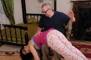 npp40830132girls pajama spanking