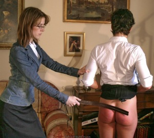 standing concensual spanking