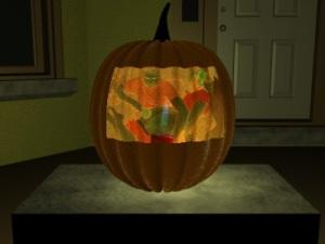 spanking pumpkin