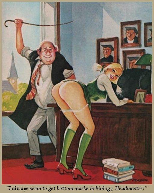 marks-in-biology spanking blog